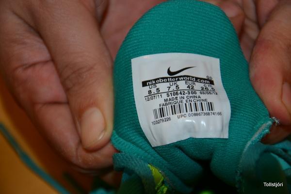 Meintar eftirlíkingar af Nike skóm